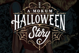 WordPress website Mokum Halloween Story