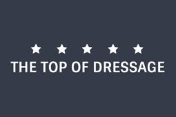 The top of dressage logo